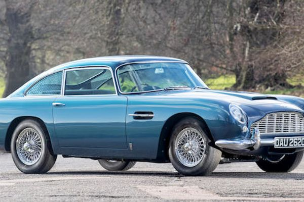 1964 Aston Martin DB5 Sports Saloon to Vantage Spec Sold for £ 636,600 at Bonhams Goodwood sale, results