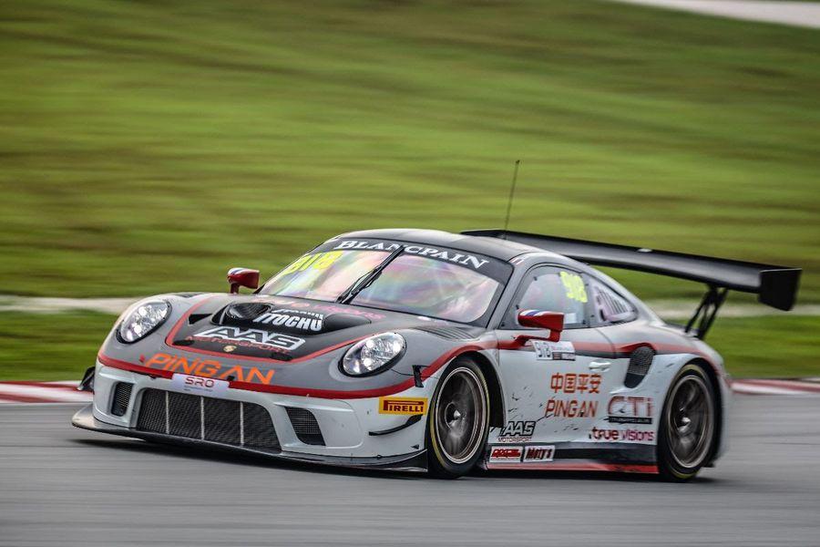 Porsche 911 Gt3 R Claims Maiden Victory During Blancpain Gt World