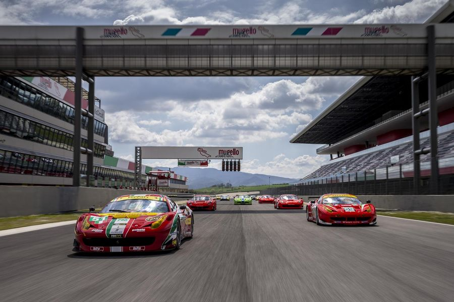 Club Competizioni GT: opening event for Ferrari racing icons at Mugello