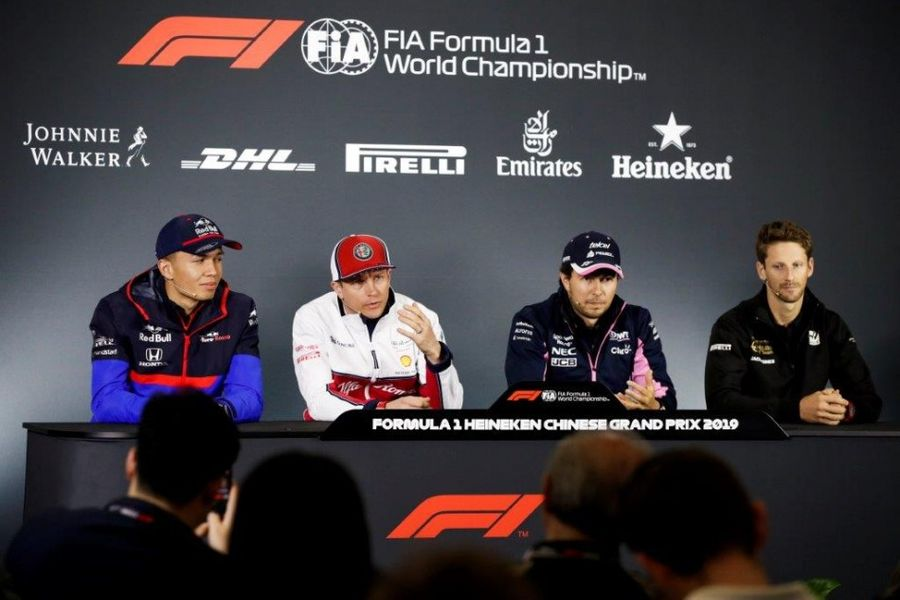 Chinese GP Drivers' Conference