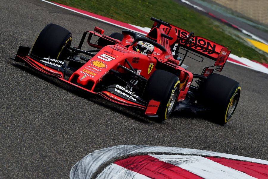 Vettel leads as F1's 1000th race weekend begins with Chinese GP practice