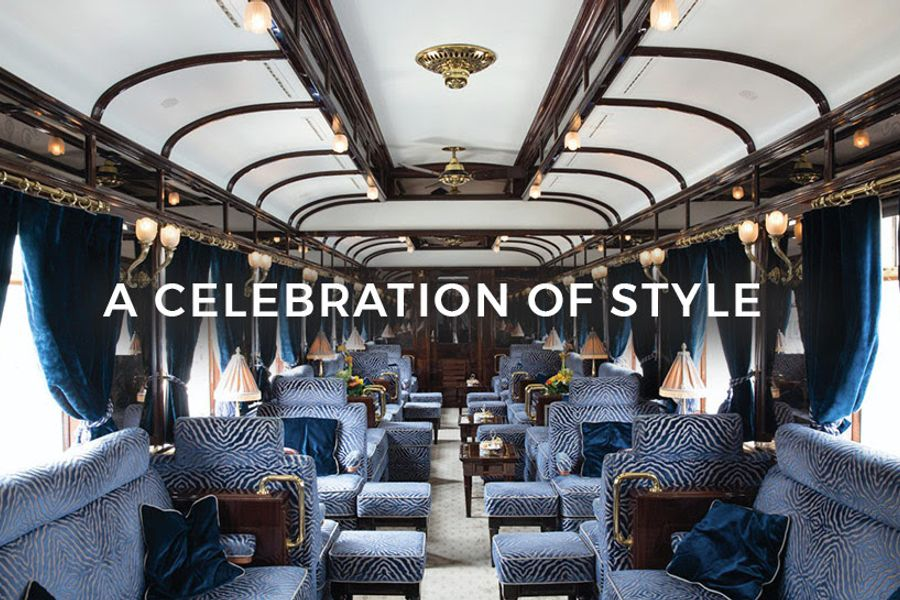 Step aboard for the world's most romantic train journey: The Venice Simplon-Orient-Express