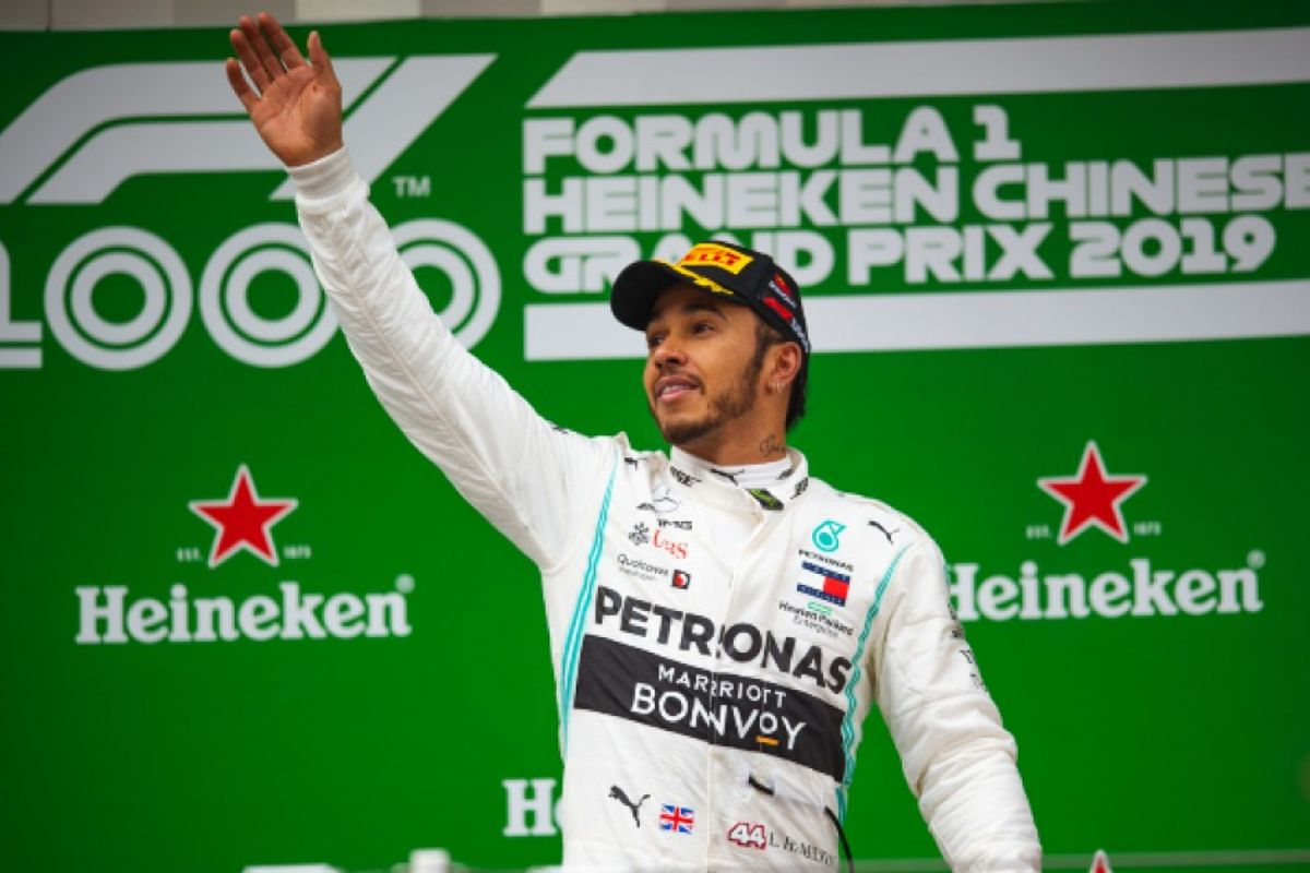 F1's 1000th race won by Hamilton in China