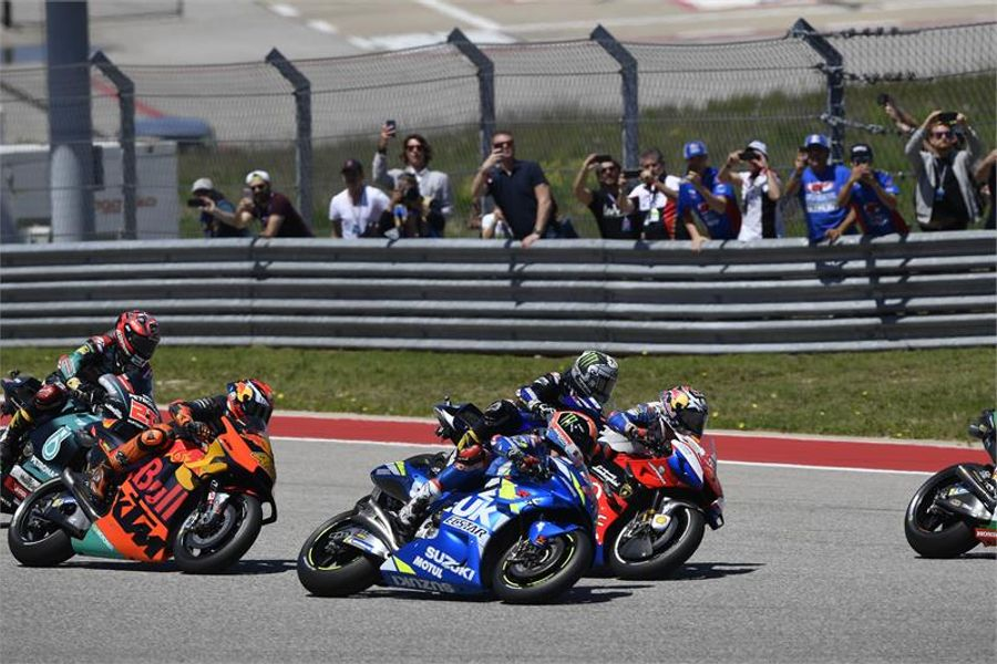 Alex Rins wins his first MotoGP race in Texas