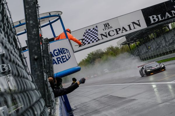 Jens Reno Møller masters the wet to take second Blancpain GT Sports Club win at Monza
