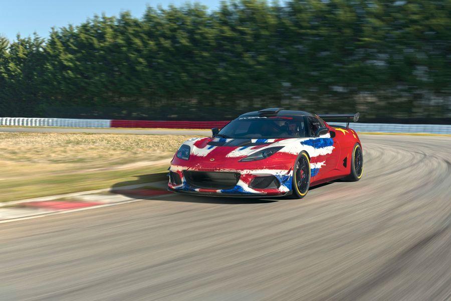 British built Evora GT4 Concept race car unveiled at Shanghai Auto