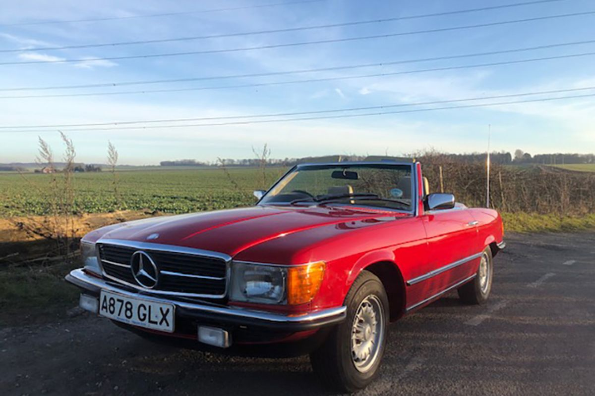Mercedes 280 SL joins diverse line-up of cars for Barons' Spring Classic Sale