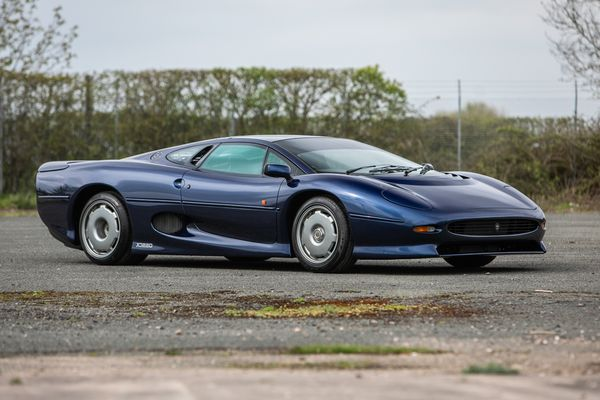 Two Jaguar XJ220s offered at British Marques Sale by Silverstone Auctions