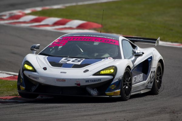 McLaren 1-2-3 marks strong weekend for the 570S GT4 at British GT opener