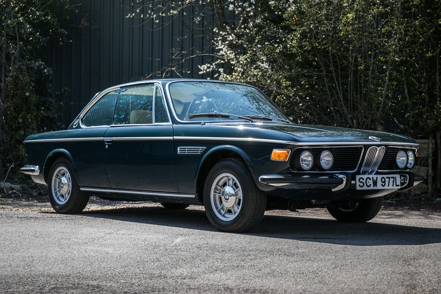 A pair of superb and timeless BMW CSis on offer at Heythrop Auction