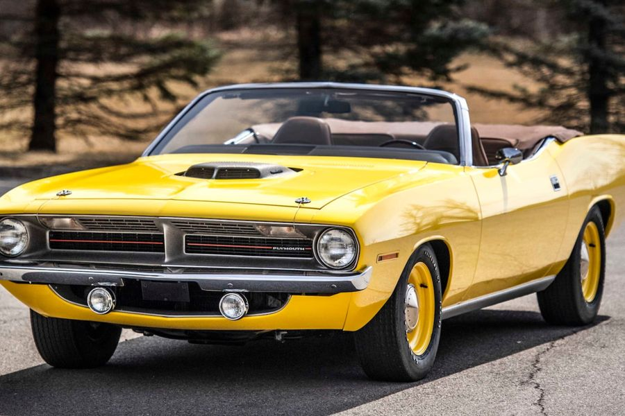 1970 Plymouth Hemi Cuda Convertible heads to Mecum Indy Auction