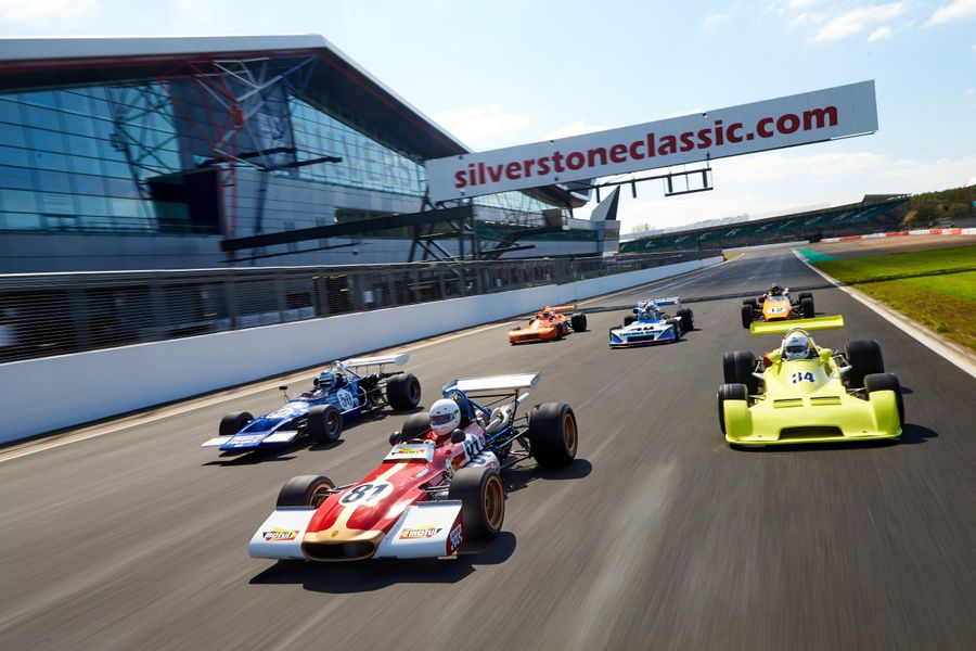 World's biggest grid of Formula 2 cars confirmed for Silverstone Classic