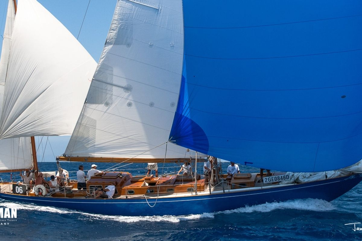 "Offered for sale ""MARJATTA"" - Jarl Lindblom 59 ft Yawl 1943"