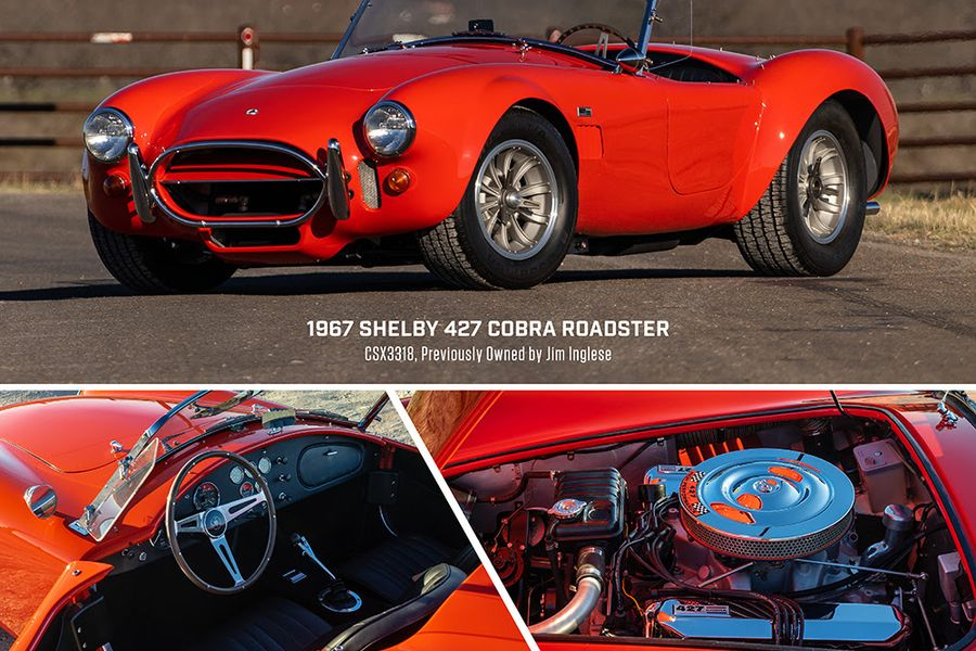 Three Of Carroll Shelby's Legendary Cobras at Mecum Indianapolis auction