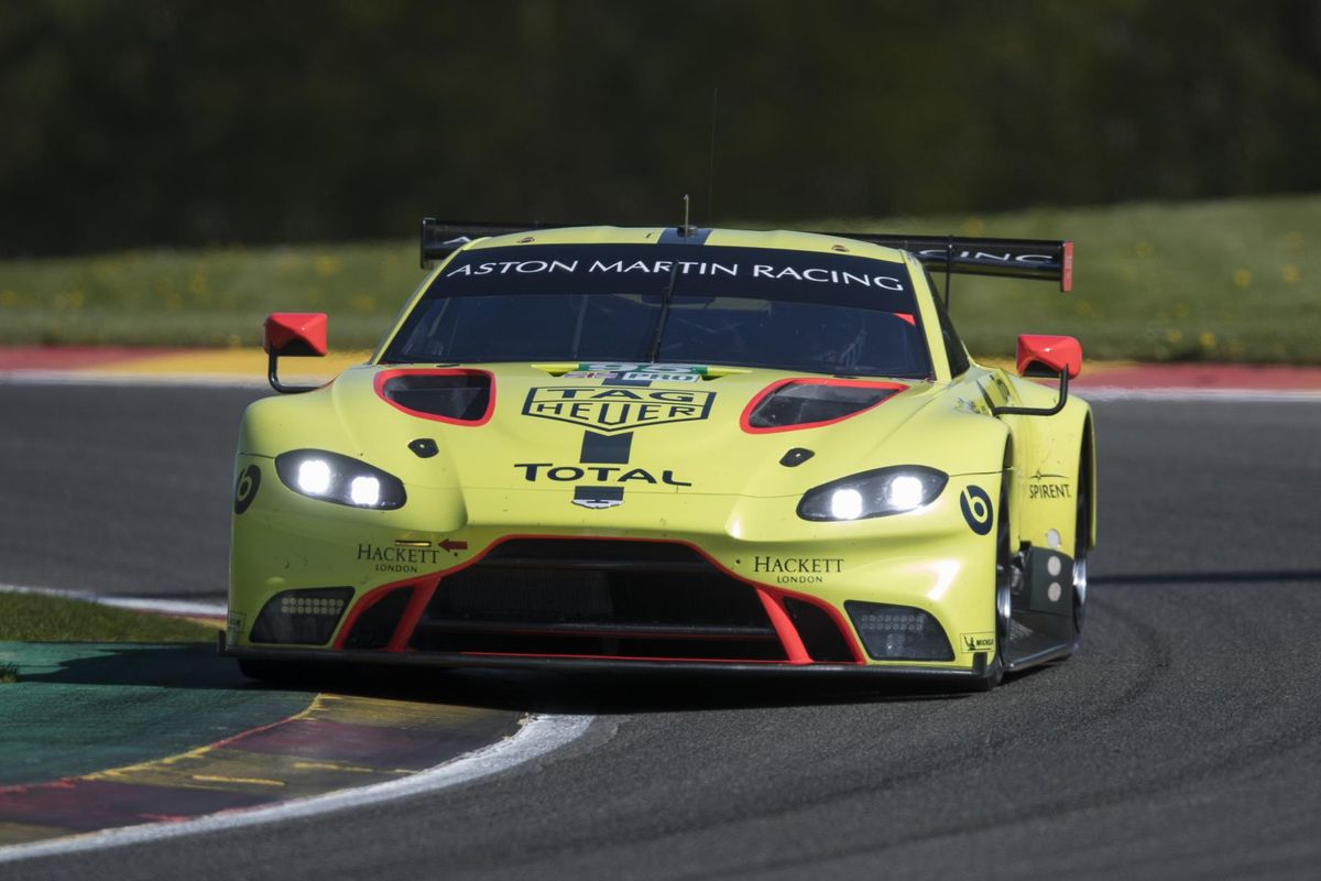 Aston Martin Racing returns to Spa as GTE Pro front-runners