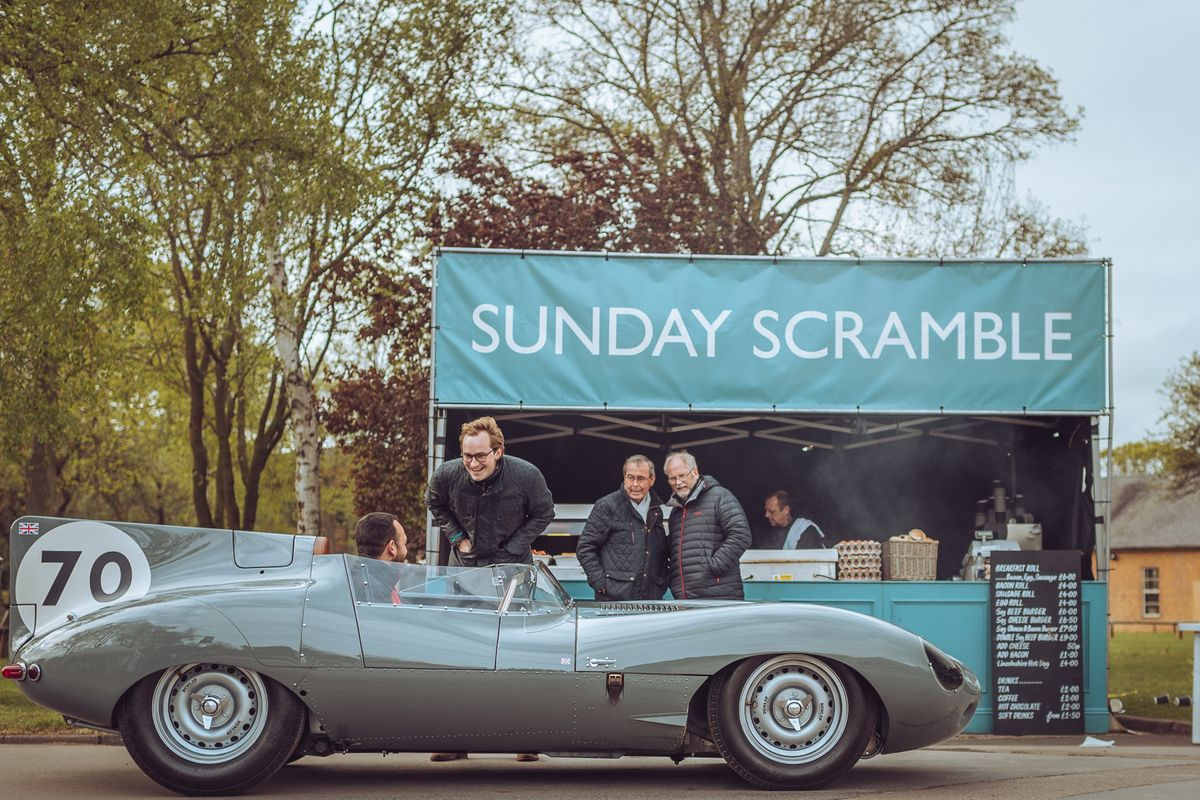 Drive It Day Scramble at Bicester Heritage