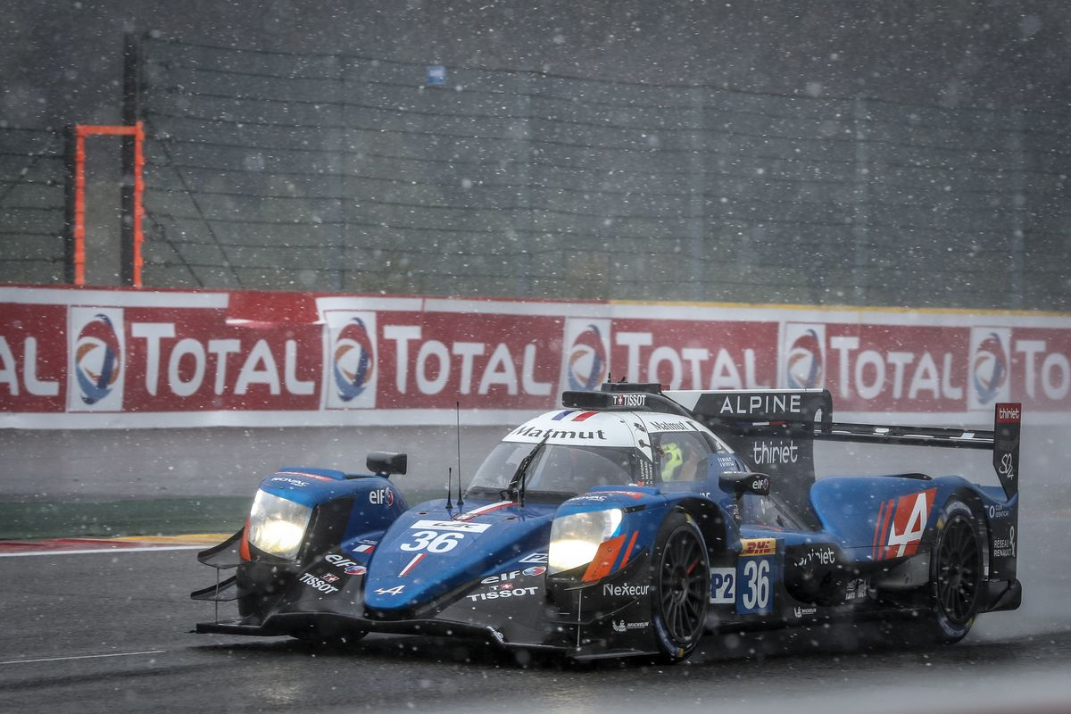 Signatech Alpine Matmut reclaims the WEC LMP2  lead after another podium at Spa