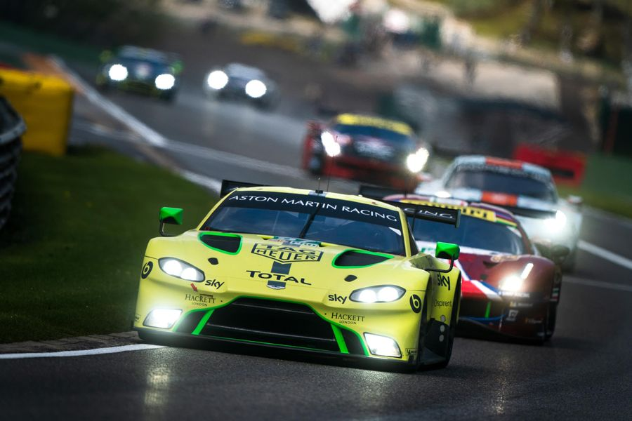 New Vantage GTE takes second win of the FIA WEC Super Season