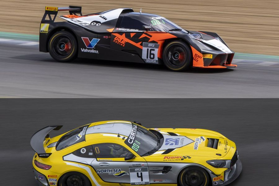 Brands Hatch GT4 European wins for True Racing KTM and Leipert Mercedes