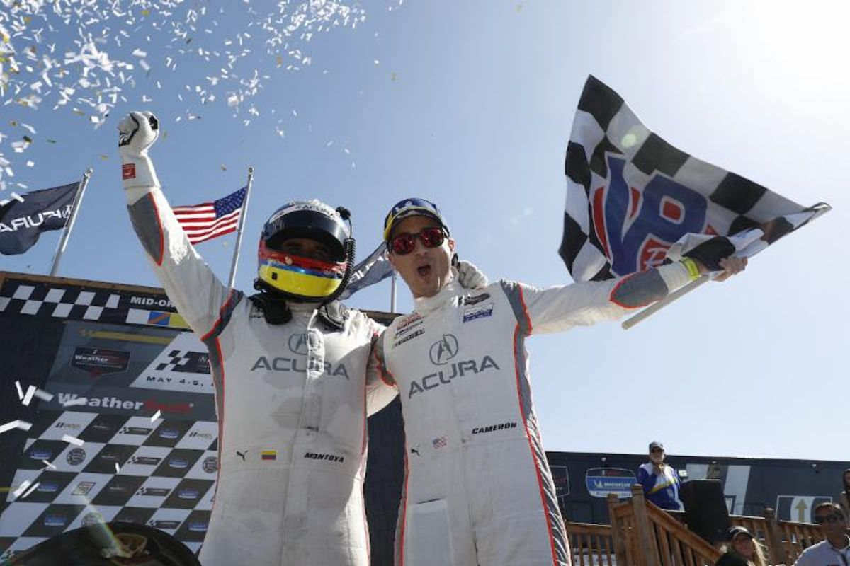 Montoya, Cameron Deliver Acura Sports Car Challenge at Mid-Ohio Win for Acura Team Penske