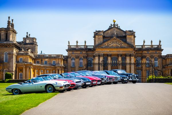 Blenheim Palace hosts Jaguar Festival this Sunday