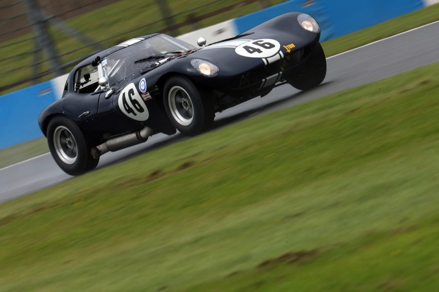 Action-packed weekend of world-class historic racing at Donington Historic Festival