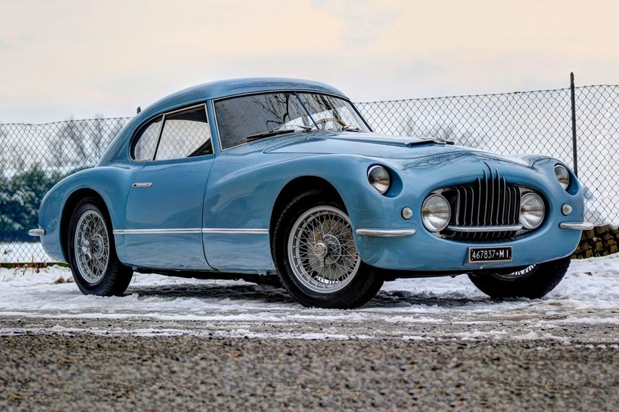 Mille Miglia eligible 1953 Fiat 8V Fiat Carrozzerie Speciali on offer at Finarte