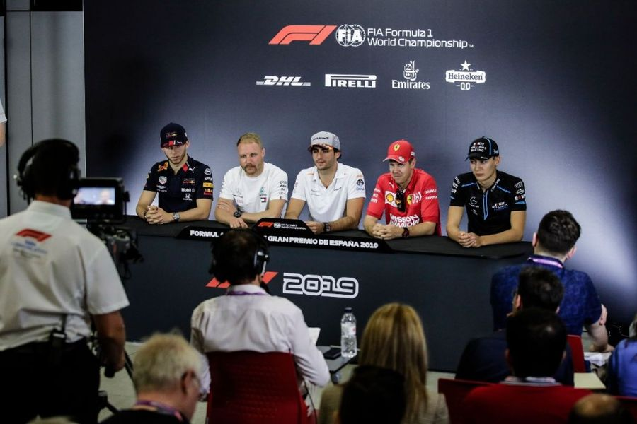 Spanish Grand Prix Drivers' Conference