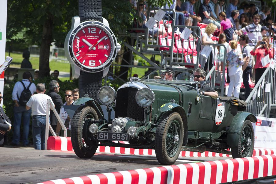 Bentley celebrates Centenary with Mille Miglia run