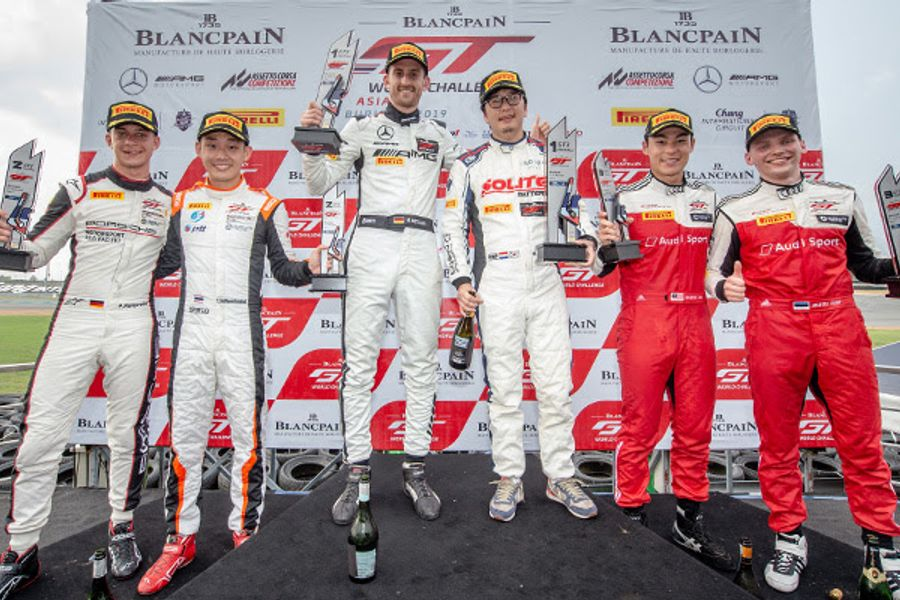 Indigo's Choi and Metzger power to first Blancpain GT World Challenge Asia victories