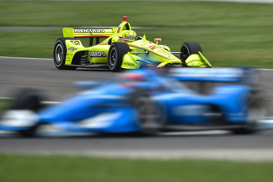 Pagenaud wins wet-and-wild INDYCAR Grand Prix