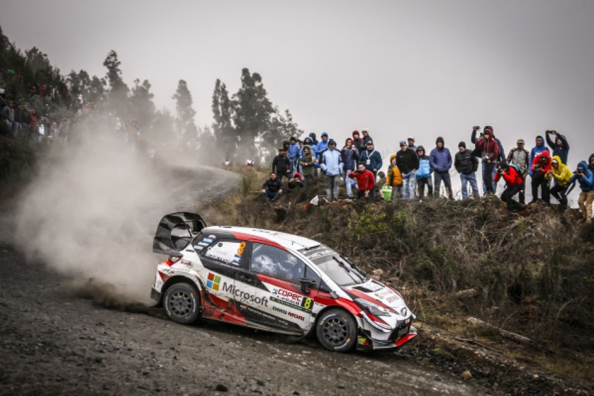 Victory for Tanak on Rally Chile as Ogier regains overall WRC lead