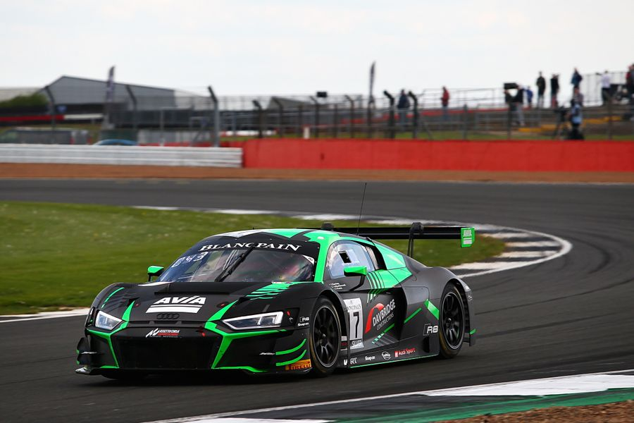 First points in maiden Blancpain season for Alex MacDowall at Silverstone