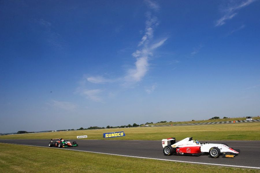 Snetterton next stop Norfolk for BRDC British F3