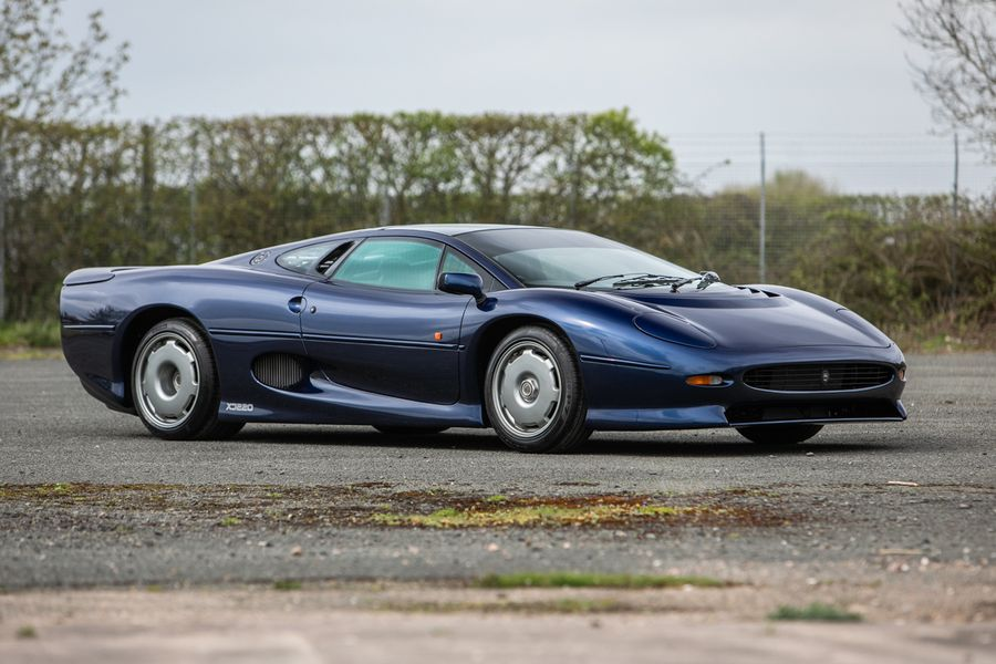 A pair of Jaguar XJ220S top sales at Heythrop Park auction