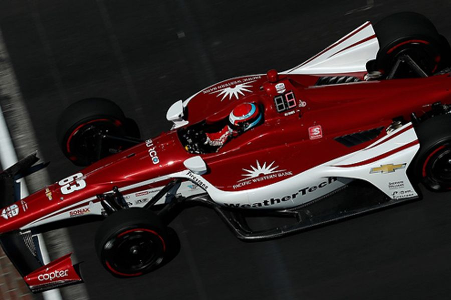 Carpenter cars shine in Indy 500 practice
