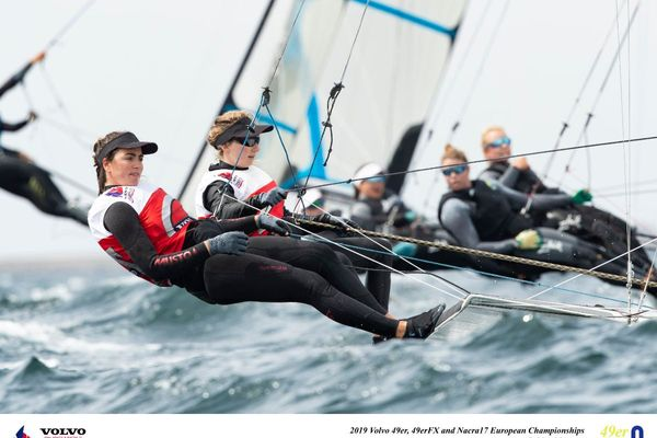 Volvo 49er, 49FX and NACRA 17 European Championship, Day 1