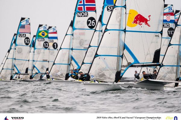 Volvo 49er, 49FX and NACRA 17 European Championship Day 2