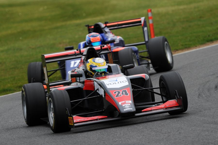Petersson and Ericsson score Swedish win double at Snetterton F3