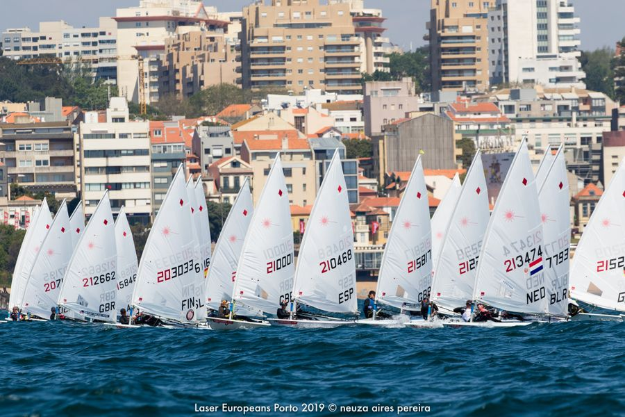 Second Day of Laser European Championship