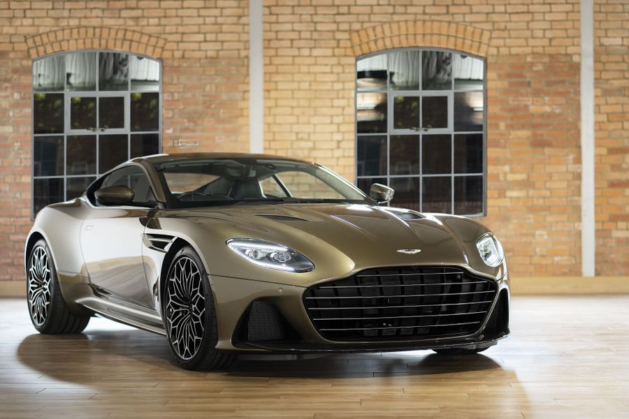 On Her Majesty's Secret Service; the Aston Martin DBS Superleggera