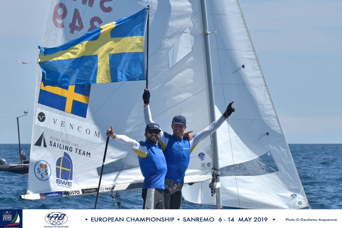 France and Sweden shine at the 470 European Championship