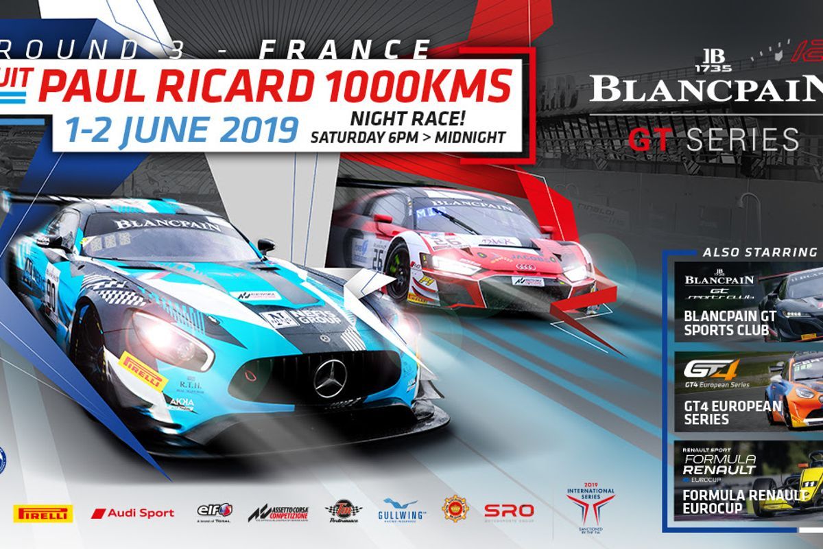 Blancpain GT Series heads for Paul Ricard for 1000km Endurance Cup