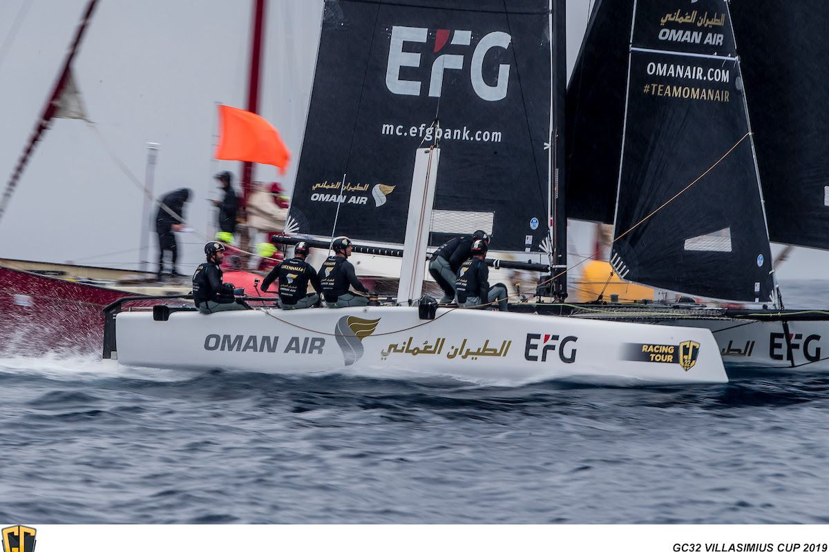 Hat Trick for Oman Air on Rainy Day Three of GC32 Villasimius Cup