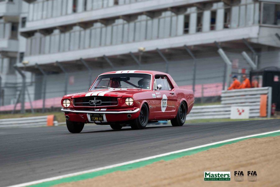 Fenn and Hill Mustang gallops to Masters Pre-66 Touring Car win at Brands