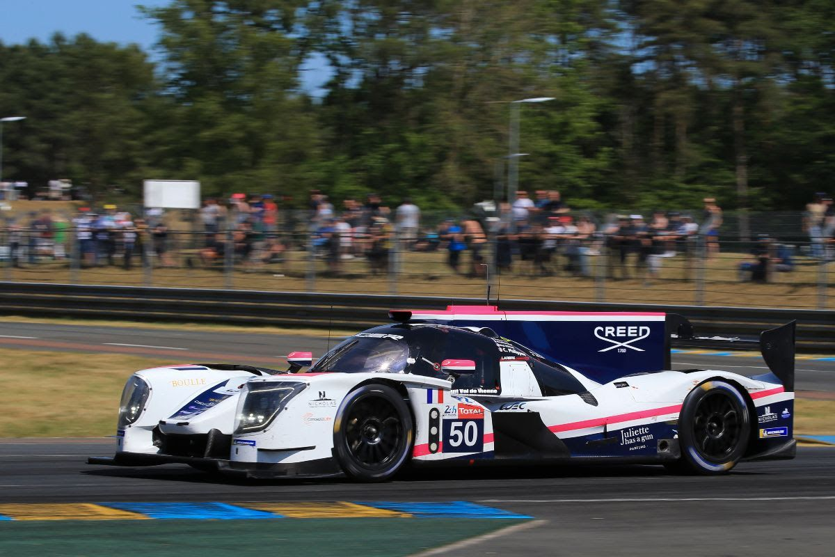 Larbre Competition sees performance jump at Le Mans 24 Hours Test Day