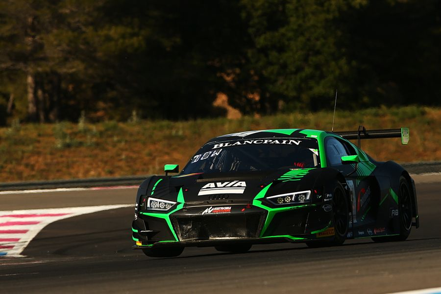Audi R8 LMS EVO GT3 racer Alex MacDowall takes season-best Blancpain finish in Paul Ricard 6hr
