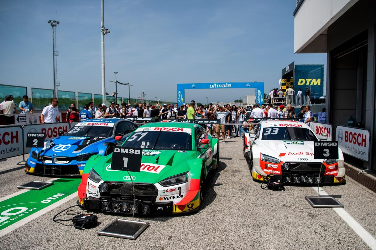 Nico Muller wins Sunday's DTM race at Misano in commanding style