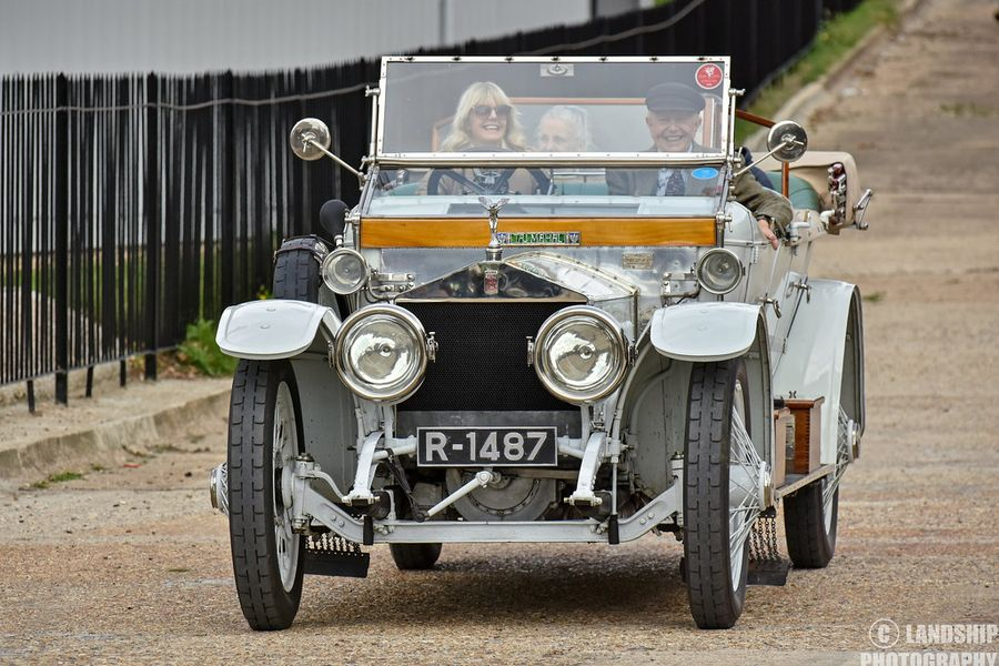 Nellie, 'Taj Mahal' Rolls-Royce Silver Ghost wins London Concours Icons Award