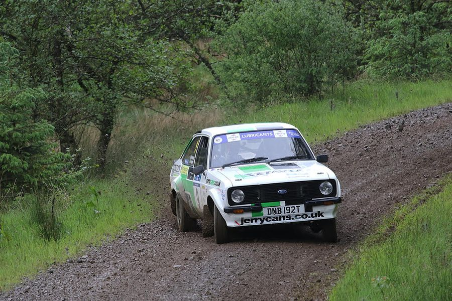 Robinson wins again on Kielder Carlisle Stages